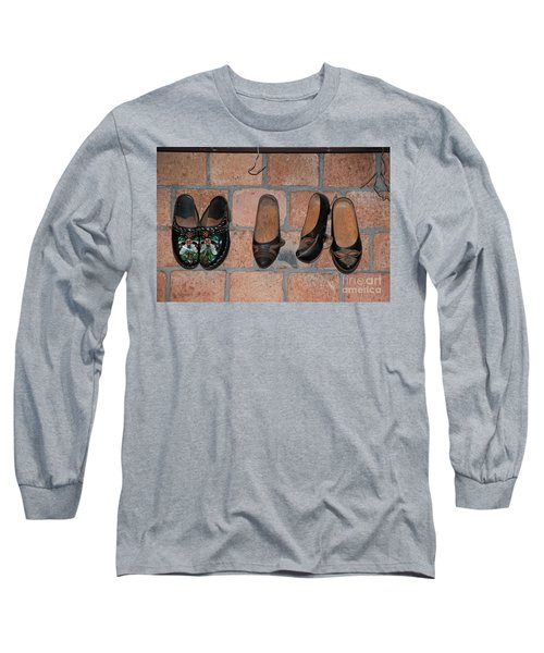 Long Sleeve T-Shirt featuring the digital art Scenes From Amsterdam by Carol Ailles