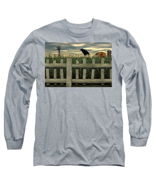 The Raven Long Sleeve T-Shirt
