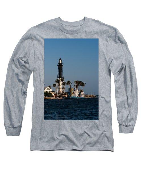 Hillsboro Inlet Lighthouse Long Sleeve T-Shirt