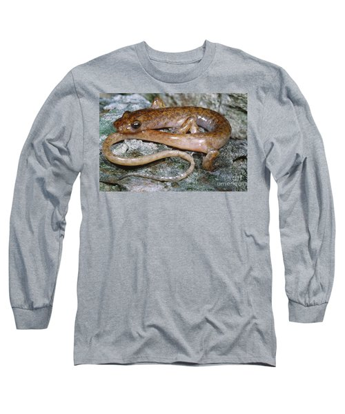 Cave Salamander Long Sleeve T-Shirt by Dante Fenolio