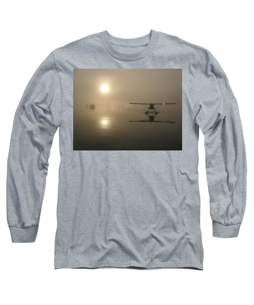 Long Sleeve T-Shirt featuring the photograph A Bad Day For Flying  by Mark Alan Perry