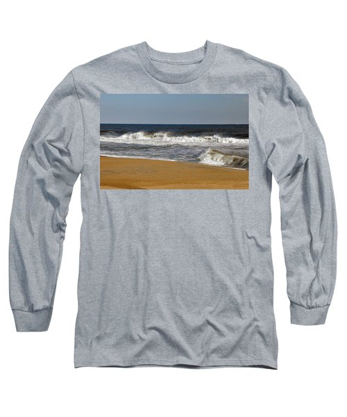 Long Sleeve T-Shirt featuring the photograph A Brisk Day by Sarah McKoy