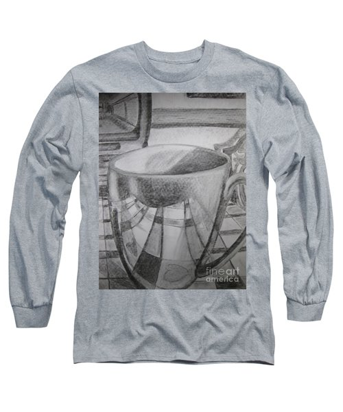A Cup Of Reflections Long Sleeve T-Shirt