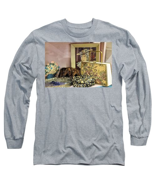 Long Sleeve T-Shirt featuring the photograph A Little Romance II by Jan Amiss Photography