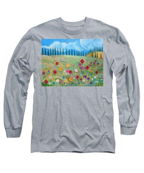 A Peaceful Place Long Sleeve T-Shirt by John Keaton