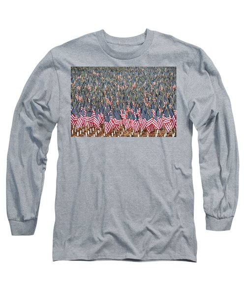 A Thousand Flags Long Sleeve T-Shirt