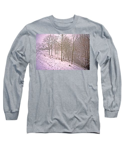 A Walk In The Snow Long Sleeve T-Shirt