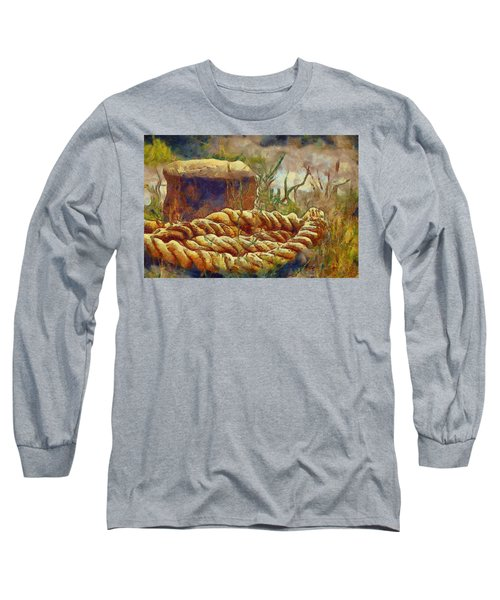 Abandoned Bollard Long Sleeve T-Shirt