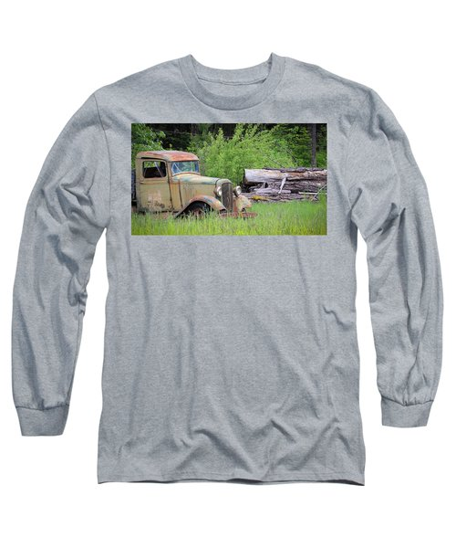 Long Sleeve T-Shirt featuring the photograph Abandoned by Steve McKinzie