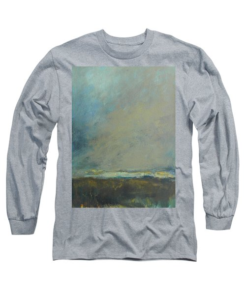 Abstract Landscape - Horizon Long Sleeve T-Shirt by Kathleen Grace