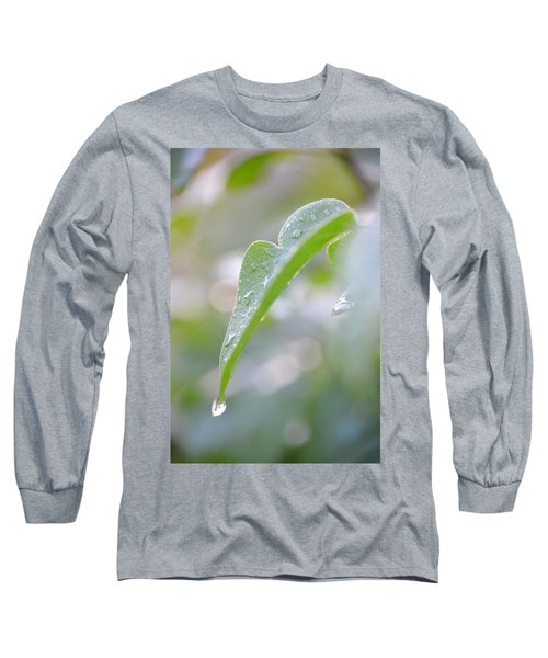 Long Sleeve T-Shirt featuring the photograph After The Rain by JD Grimes