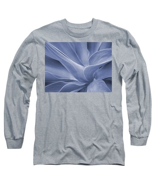 Agave In Blue Long Sleeve T-Shirt