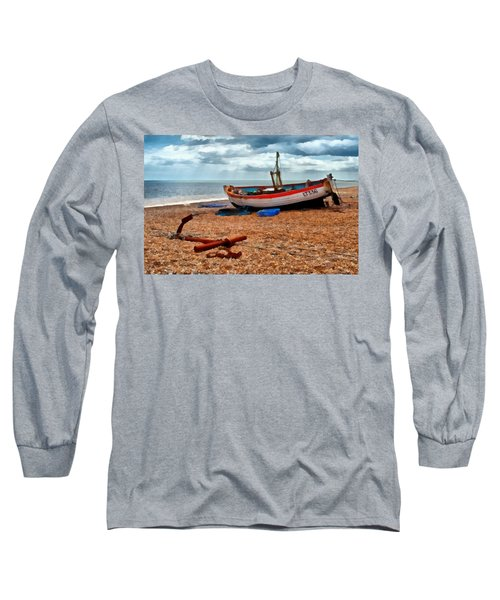 Aldeburgh Fishing Boat Long Sleeve T-Shirt
