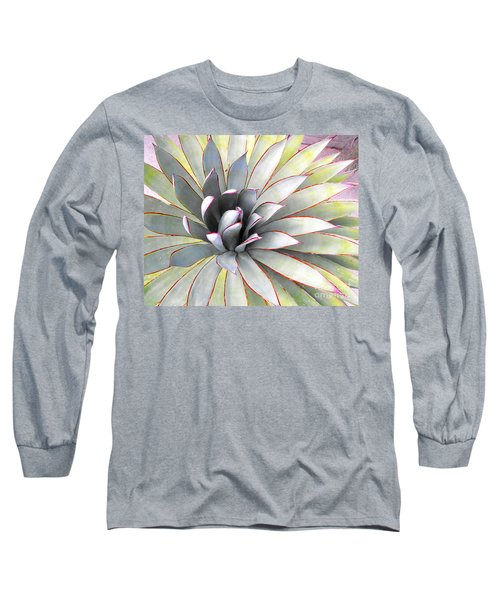 Long Sleeve T-Shirt featuring the photograph Aloe by Rebecca Margraf