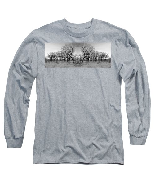 Altered Series - Bare Double Long Sleeve T-Shirt by Kathleen Grace