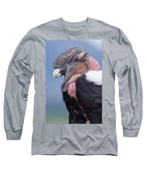 Andean Condor Vultur Gryphus Adult Male Long Sleeve T-Shirt