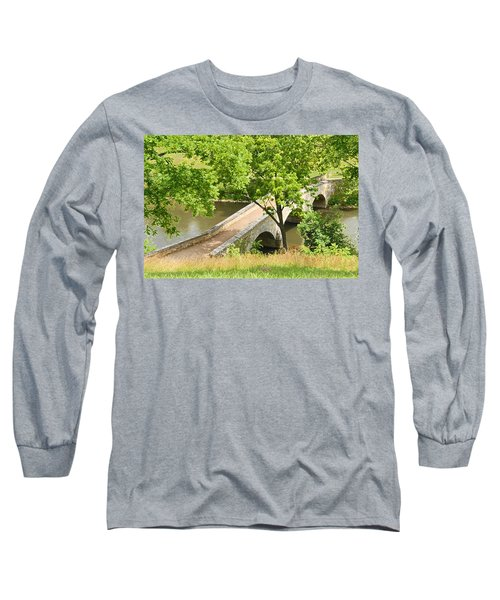 Long Sleeve T-Shirt featuring the photograph Antietam's Burnside Bridge by Cindy Manero