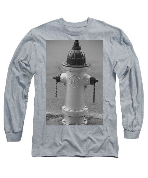Antique Fire Hydrant Cambridge Ma Long Sleeve T-Shirt