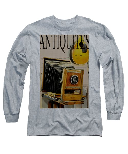 Long Sleeve T-Shirt featuring the photograph Antiquites by Jan Amiss Photography