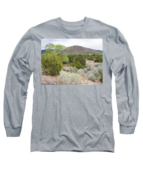 April New Mexico Desert Long Sleeve T-Shirt by Kathleen Grace