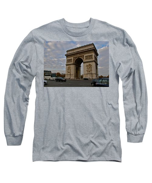 Long Sleeve T-Shirt featuring the photograph Arc De Triomphe by Eric Tressler