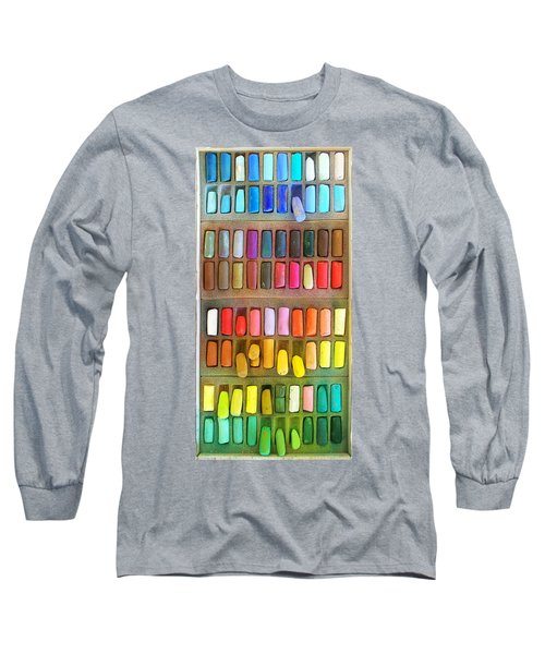 Artists Rainbow Long Sleeve T-Shirt by Francesa Miller