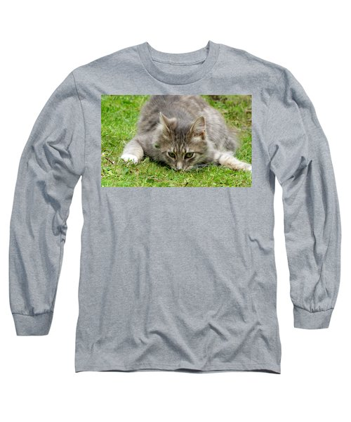Attack Long Sleeve T-Shirt by Barbara Walsh