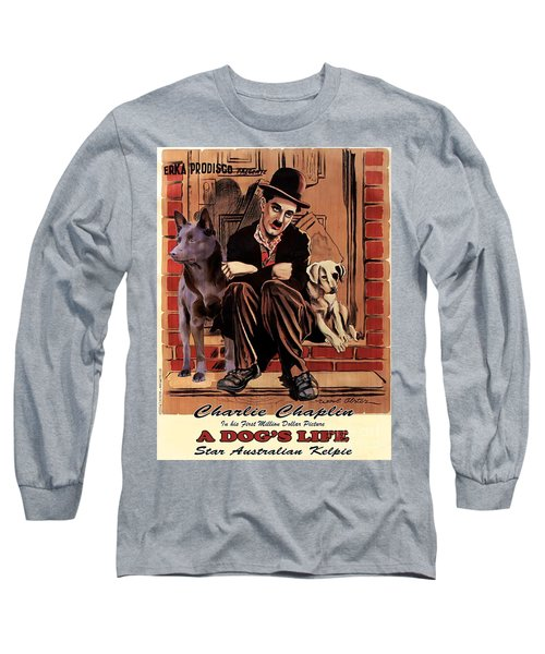 Australian Kelpie - A Dogs Life Movie Poster Long Sleeve T-Shirt