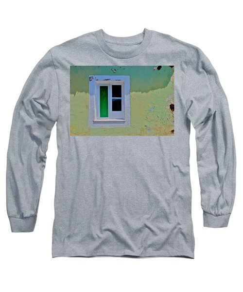Azores Window Long Sleeve T-Shirt by Eric Tressler