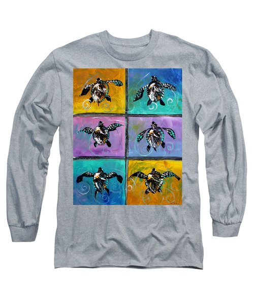 Baby Sea Turtles Six Long Sleeve T-Shirt