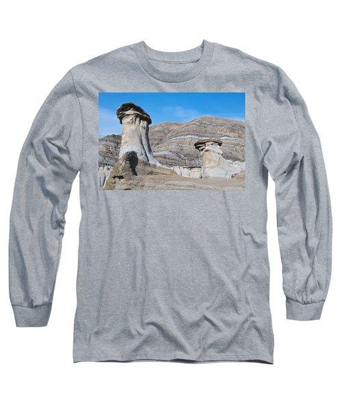 Badland Hoodoos  Long Sleeve T-Shirt