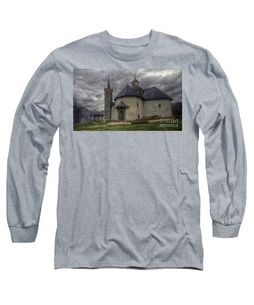 Baroque Church In Savoire France 6 Long Sleeve T-Shirt
