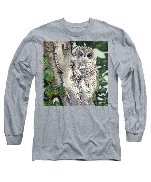 Barred Owl II Long Sleeve T-Shirt