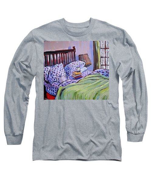 Bed And Books Long Sleeve T-Shirt