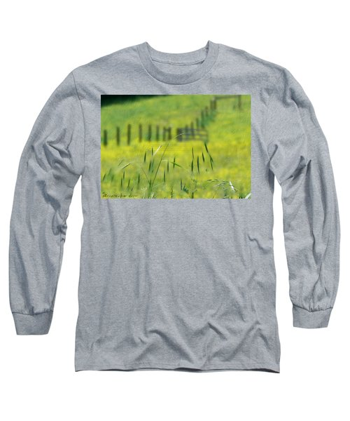 Beyond The Weeds Long Sleeve T-Shirt by EricaMaxine  Price