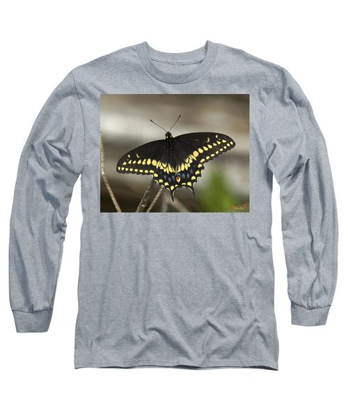 Black Swallowtail Din103 Long Sleeve T-Shirt
