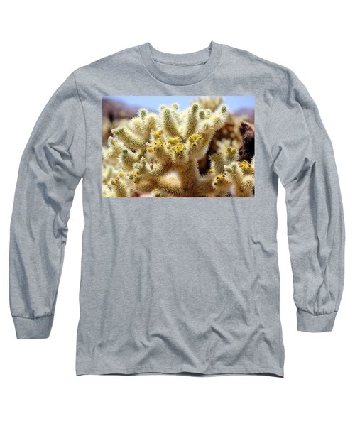 Blooming Cholla Long Sleeve T-Shirt