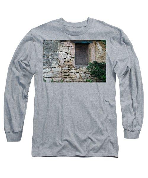 Boarded Window England Long Sleeve T-Shirt