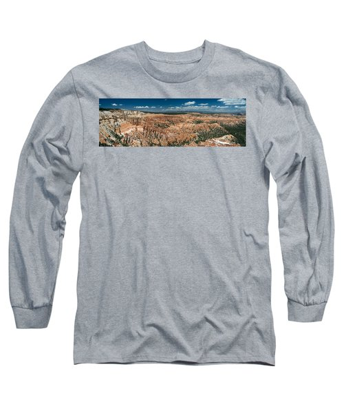 Bryce Canyon Panaramic Long Sleeve T-Shirt by Larry Carr