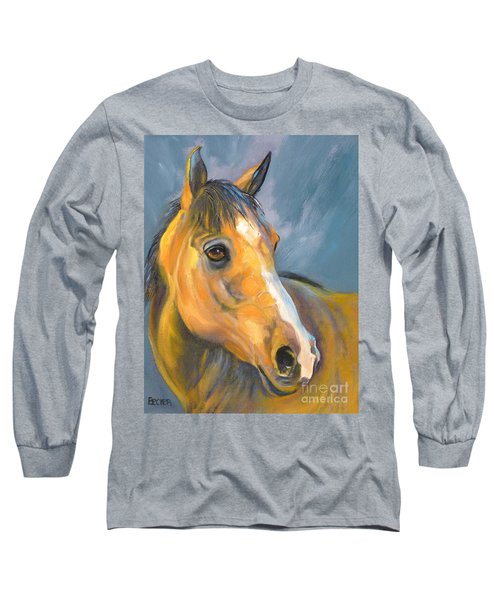 Buckskin Sport Horse Long Sleeve T-Shirt