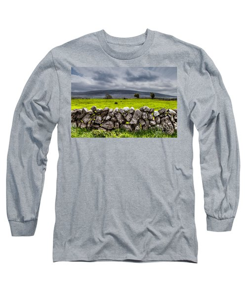 Burren Stones Long Sleeve T-Shirt