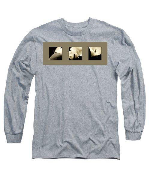 Calla Lilies Art Long Sleeve T-Shirt