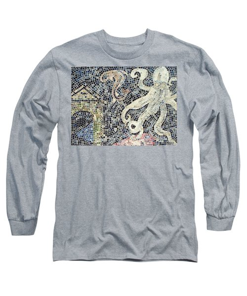 Long Sleeve T-Shirt featuring the painting Can You See Me Know by Cynthia Amaral