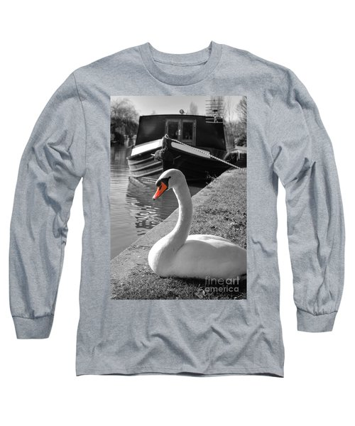 Canal Swan Long Sleeve T-Shirt