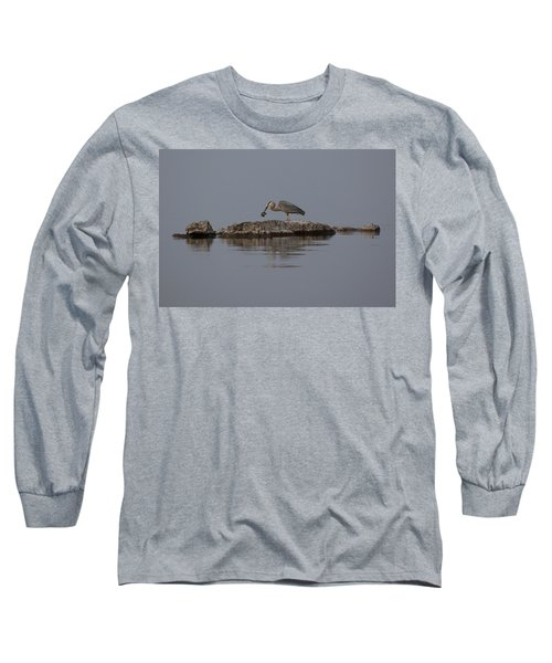 Caught One Long Sleeve T-Shirt by Eunice Gibb