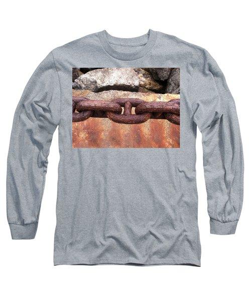 Long Sleeve T-Shirt featuring the photograph Chain Under The Golden Gate Bridge by Bill Owen