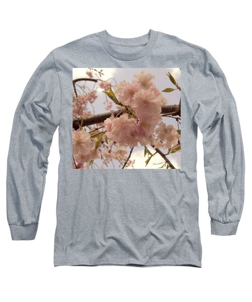 Long Sleeve T-Shirt featuring the photograph Cherry Blossom 2 by Andrea Anderegg