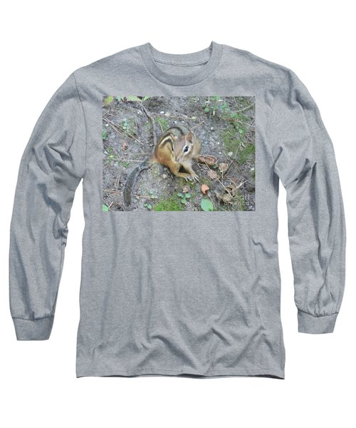 Chipmunk Feast Long Sleeve T-Shirt