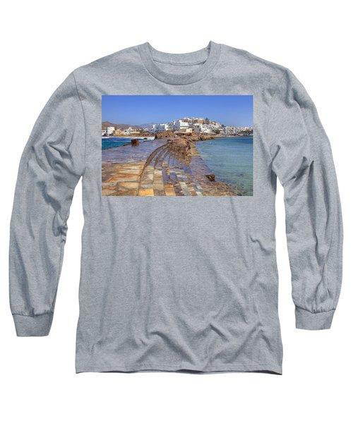 Chora Naxos Long Sleeve T-Shirt