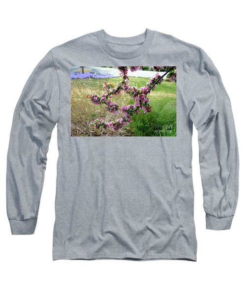 Circle Of Blossoms Long Sleeve T-Shirt